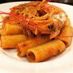 リガトーニ 赤海老味噌のトマトクリームソース